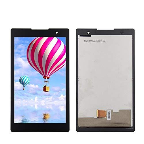 Ersatzdisplay für Lenovo Lenovo Tab 2 A7-30 A7-30HC LCD Display + Touchscreen Digitizer Montage Schwarz Reparaturset Ersatzbildschirm (Farbe: Schwarz)