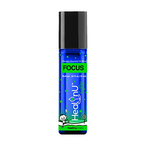Healinu Kids Focus Roll-On - Focus and Concentration...