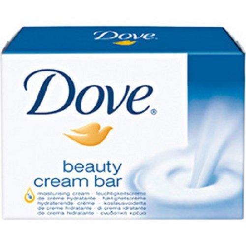 4 * Dove Beauty Cream Bar Waschstück mit 1/4 Feuchtigkeitscreme (4 * 100g)