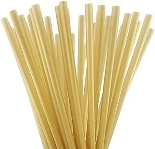 10 Inch Drinking Straws (250 Straws) (10 Inch x 0.28 Inch) (Gold)