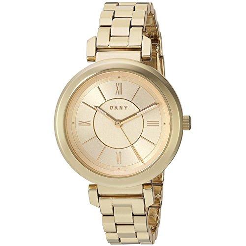 DKNY Damen Analog Quarz Uhr mit Edelstahl Armband NY2583