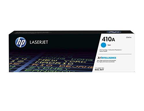 HP 410A (CF411A) Blau Original Toner fürHP Color Laserjet Pro M452, HP Color Laserjet Pro M477
