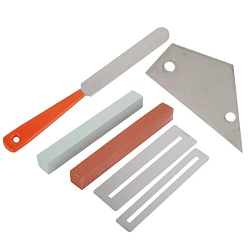 Kit de herramientas para guitarra Accesorio de guitarra duradero de acero inoxidable ligero, para limpieza, mantenimiento y reparación