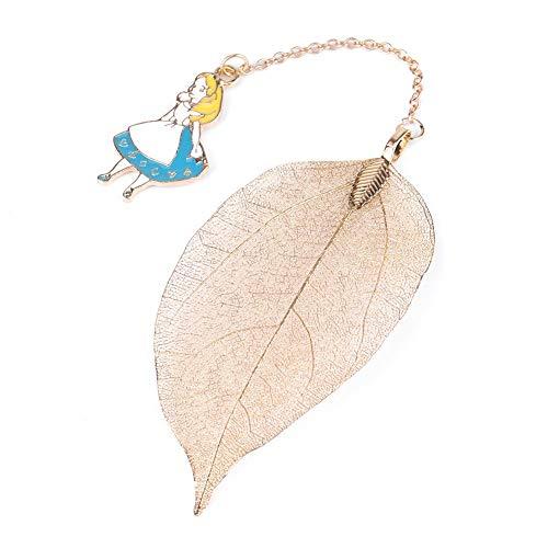 Metalen bladwijzer bladwijzer hanger geschikt voor alle soorten boeken Alice/konijn/klok decoratie Alice