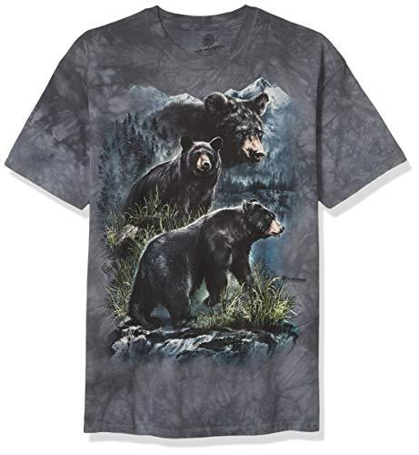 The Mountain Unisexe Adulte Trois Ours Bruns T Shirt L