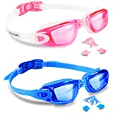 EverSport Swim Goggles, Pack of 2, Swimming...