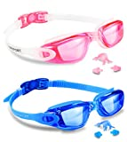 Best Floaties For Kids - EverSport Swim Goggles, Pack of 2, Swimming Glasses Review