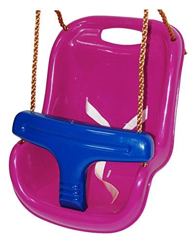 OTITU Just Fun Asiento Columpio de plástico para bebé – Morado-Azul