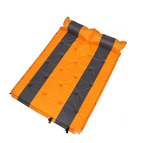 Camping Air Bed Geschikt voor 2 Personen Opblaasbare Outdoor Air Mattrice Zelfopblaasbare Dubbellaags Compact Foam Camping Met Extra Kussen Waterdicht En Lichtgewicht Geweldig Voor Camping Stranden