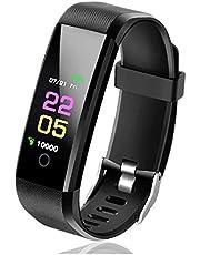 VALAM Fitnesstracker, activiteitstracker, smartwatch, stappenteller, cardio, smart sporthorloge, Android iOS, activiteitstracker, waterdicht IP67, fitnesstracker, stappenteller, hardlopen