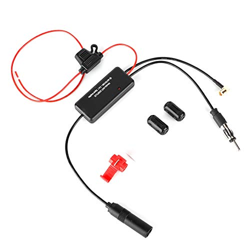 Antenne-signaalversterker, ANT-208 Plus autoradio FM-antenne FM AM DAB 3-in-1 signaalversterker