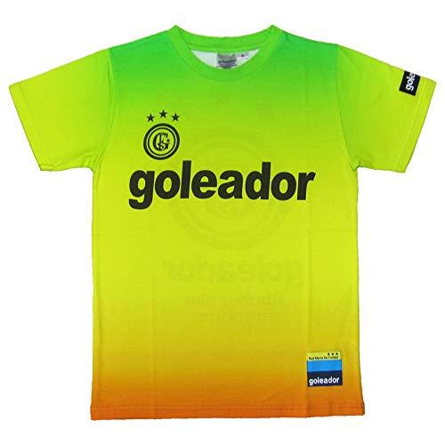 goleador(ゴレアドール) ベーシックロゴジェットプリントTシャツ G-2336 LLサイズ イエロー