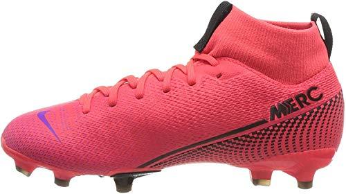 Nike Unisex-Kinder Superfly 7 Academy Fg/Mg Fußballschuhe, Rot (Laser Crimson/Black-Laser Crim 606), 38 EU