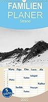 Strand - Familienplaner hoch (Wandkalender 2022 , 21 cm x 45 cm, hoch): Wind, Duenen, Sand, Wellen & Wasser (Monatskalender, 14 Seiten )