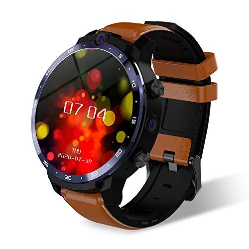 Smart Watch für Android und iOS Telefon, 900 mAh Akku 1,6 Zoll Display LTE 4G 4GB + 64GB Speicher 5.0mp/8.0MP Dual Kamera mit Face Entriegelung