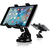 Tablet Holder, Car Tablet Dash Mount Holder Stand for Car Windshield Dashboard Universal