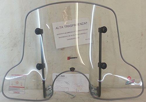 Parabrisas para 4 estaciones Piaggio Vespa PK-XL-50/125 cc, cortavientos Cód.21072