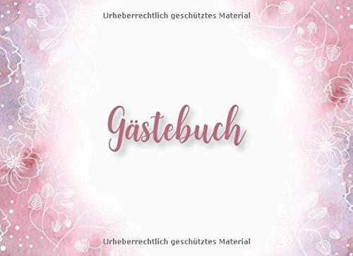 Gästebuch: Pinke Märchenbuch Hochzeits Gästebuch für unsere Traum Hochzeit mit Fragen und...