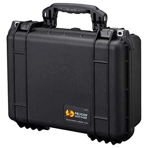 Pelikaan (Pelican) middelgrote waterdichte koffer 1454HK divider soort zwarte 1454HKBK 6,7 l