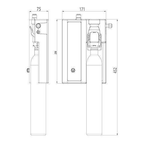 Sprudel aus dem Wasserhahn! Untertisch-Trinkwassersprudler BubbleBox inkl. 3-Wege-Armatur IMPREZA INOX und Anschluss-Set. Macht das Leben einfach prickelnder! Bubble Box - 7