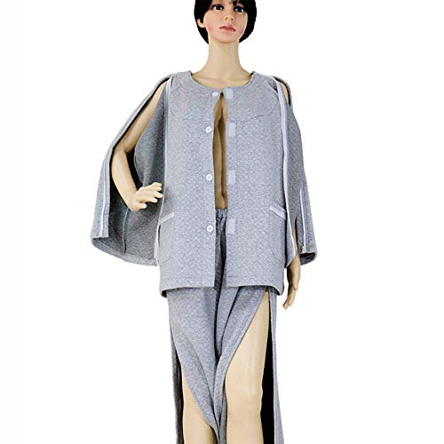 Jnzr Fracture Vêtements Vêtements Patient Adaptive Apparel vêtements des Soins aux Patients Kit,XL