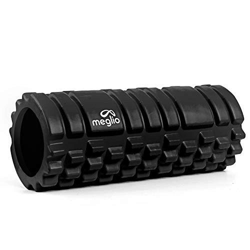 meglio Grid Faszienrolle für Muskelmassage, Ideal für Tiefe Muskelgewebsmassage, löst Muskelverspannungen und -Schmerzen, Triggerpunkt Faszienrolle mit Grid-Design für myofasziale Entspannung