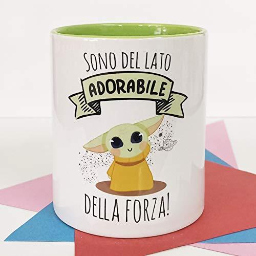 La Mente è Meravigliosa - Taza con Frase y Dibujo Divertido -...