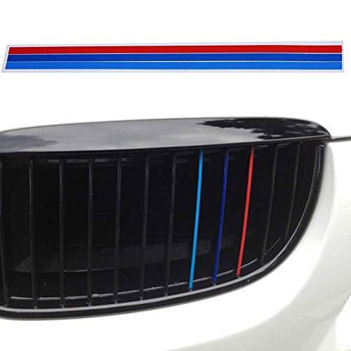 CTMNB auto sticker 3-kleuren auto Stickers Grille Streep Grid Insertie Decoratie achteruitkijkspiegel Stickers auto deur Protector