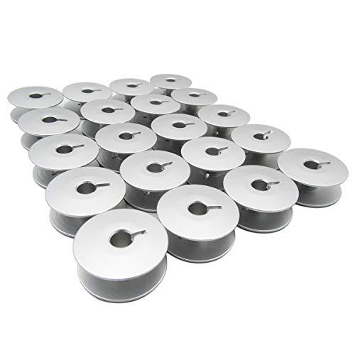 CKPSMS Marca - # 0245-001660 Bobinas de aluminio de 26 mm Ajuste para Durkopp Adler 367 467 767 768 867 868 (20piezas)