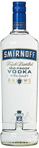 Smirnoff Blue No. 57 Export Strength Premium Vodka (1 x 1 l)