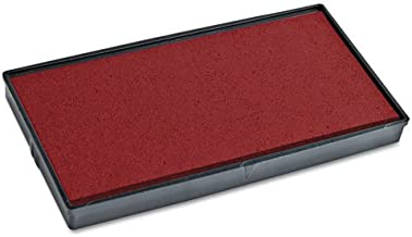 2000 PLUS 2000 PLUS Replacement Ink Pad for Printer P40 & Dual Pad Printer P40, Red