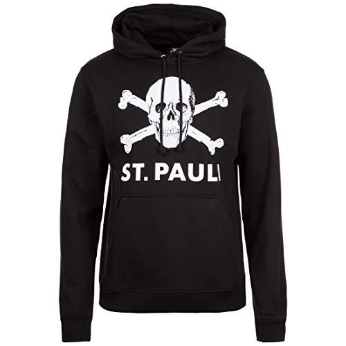 Do You Football FC St. Pauli Totenkopf Hoody Schwarz Weiss