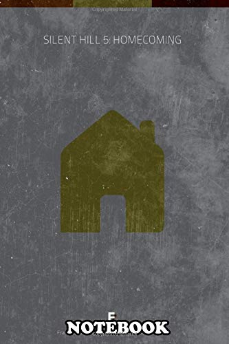 Notebook: Silent Hill 5 Homecoming Minimal Videogame Poster , Journal for Writing, College Ruled Size 6' x 9', 110 Pages