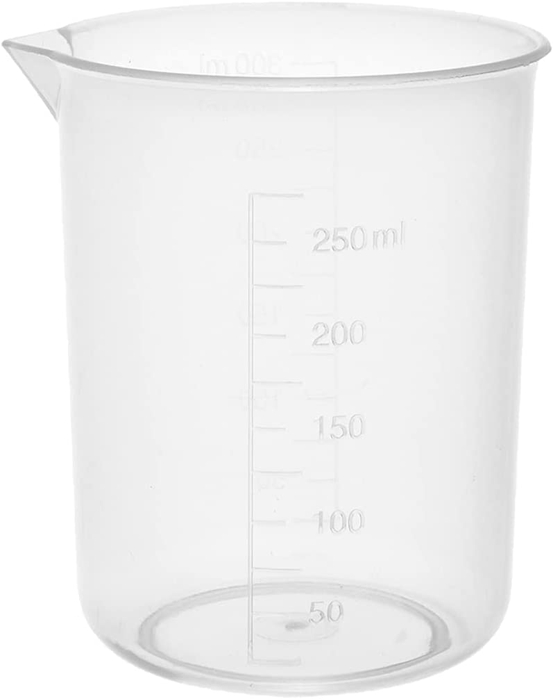 Othmro Measuring Cup Popular standard 250ml Beaker Transparent Graduated Plastic Cheap sale