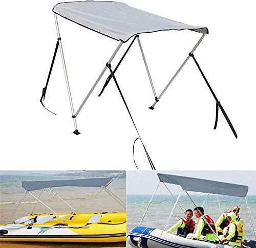 Zaizai Tendalino Parasole Per Barche Da Pesca - Tendalino Parasole Per Barche Da Pesca, Copertura Superiore Per Kayak Gonfiabile Pieghevole Con Accessorio Di Installazione