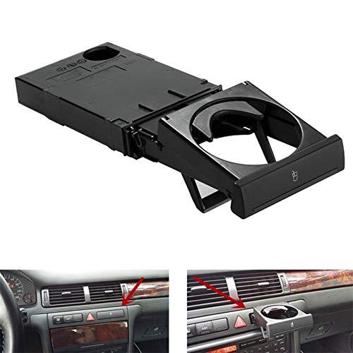 YFJLOVE YUFENGJIAO Doblar Tramo del sostenedor de Taza for Audi A6 C5 1998-1905 A4 98-2002 4B0862534D (Color Name : Black)