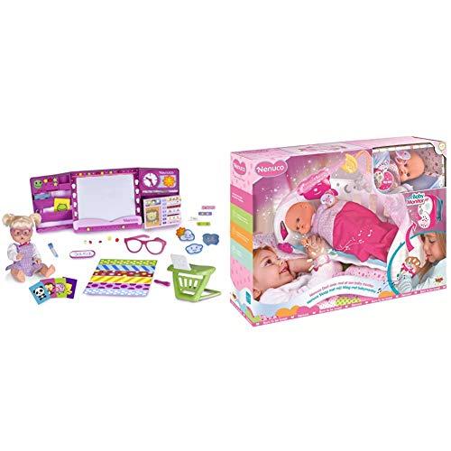Nenuco Happy School, 700013101 & Nenuco- Dormi Con Me Con Baby Monitor, 700014485