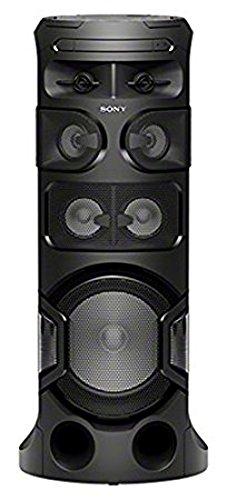 Sony MHC-V81D Bluetooth Party Lautsprecher (360 Grad Sound & Beleuchtung, One Box Hifi Music System, USB, CD/DVD, HDMI, kompatibel mit Party Chain) schwarz