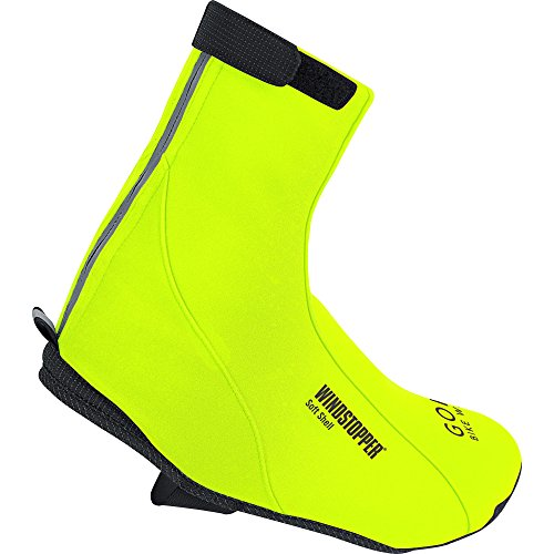 GORE WEAR Erwachsene Soft Shell Überschuhe Road Windstopper Neon Gelb, 36-38 - 3