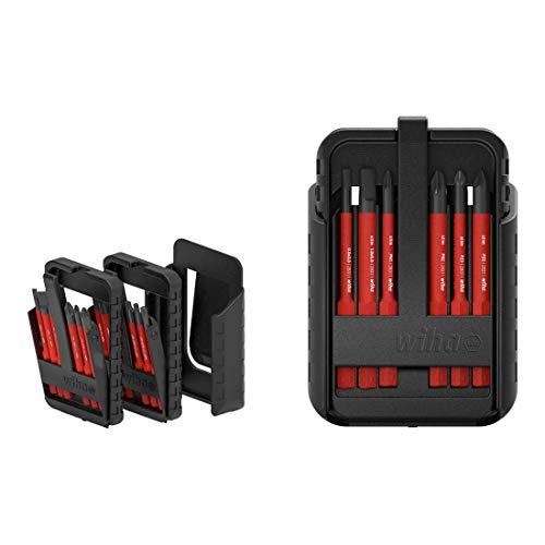 Wiha 43161 electricTORX, TORX Plus 12-TLG. in slimBit-Box Bit Set Rot