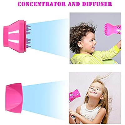 ???Cheap 'Deogra 1000W Childrens Hair Dryer Pink Mini Hair