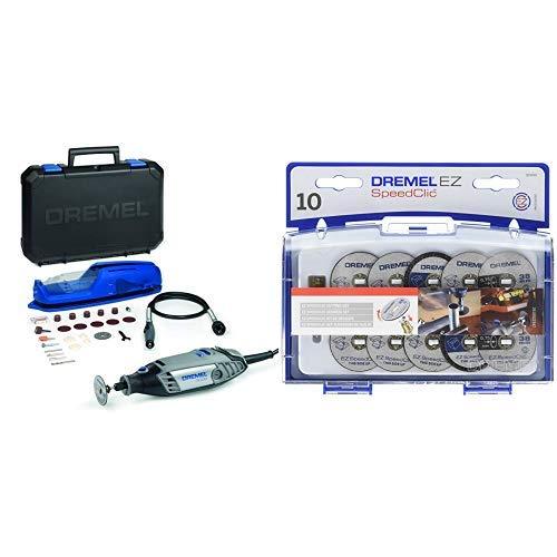 Dremel 3000-1/25 EZ - Multiherramienta + Dremel 2615S690JA Juego de accesorios