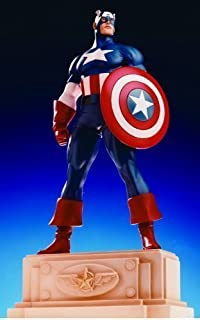 Captain America Mini-Statue Randy Bowen by Bowen Designs