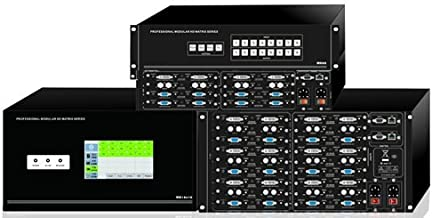 WolfPack 4K Lite HDMI Modular Matrix Switcher - You Design It with 1-Year Warranty