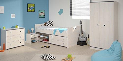 Parisot Kinderzimmer Smoozy Weiß, versch. Ausführungen