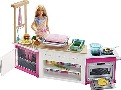 Ensemble de Cuisine Barbie Ultime - FRH73 - 0