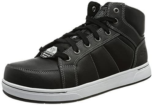 Skechers WATAB, Botas Cortas al Tobillo Hombre, Negro, 41.5 EU