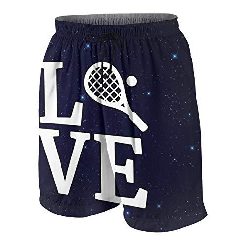 KLKLK Love Squash Junioren Beach Board Shorts Jungen Mädchen Badeanzug mit Kordelzug