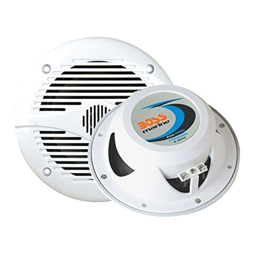Marine Speakers | BOSS Audio MR50W 150 Watt (Per Pair), 5.25 Inch Full Range