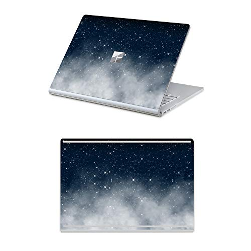 MasiBloom Top & Bottom Sticker Decal for 13' Microsoft Surface Book 2 (2017 Released) 13.5 inch Protective Laptop Cover Skin (for 13.5' Surface Book 2, Starry Sky)
